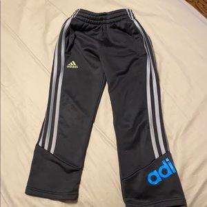 Boys Adidas size 5 climawarm black pants